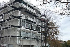"""Саниране на многофамилна жилищна сграда в УПИ XII, кв.91 по плана на гр.Поморие, находяща се на ул.""""П.К.Яворов""""№50"""
